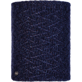 Buff Lifestyle Knitted and Polar Fleece Margo Nekwarmer, ebba night blue